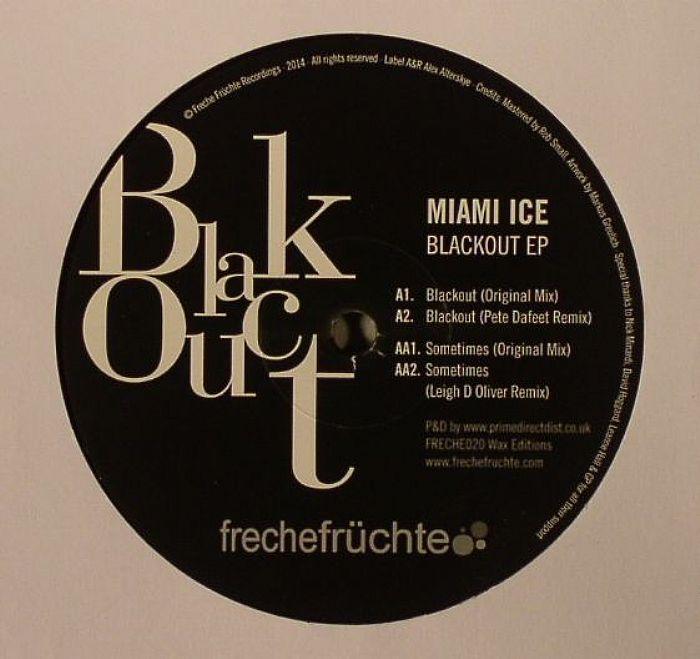 MIAMI ICE - Blackout EP