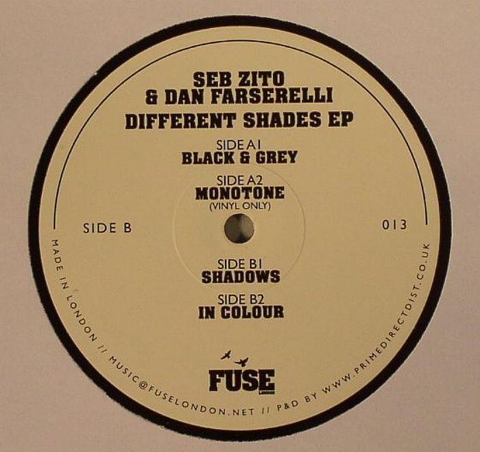 ZITO, Seb/DAN FARSERELLI - Different Shades EP