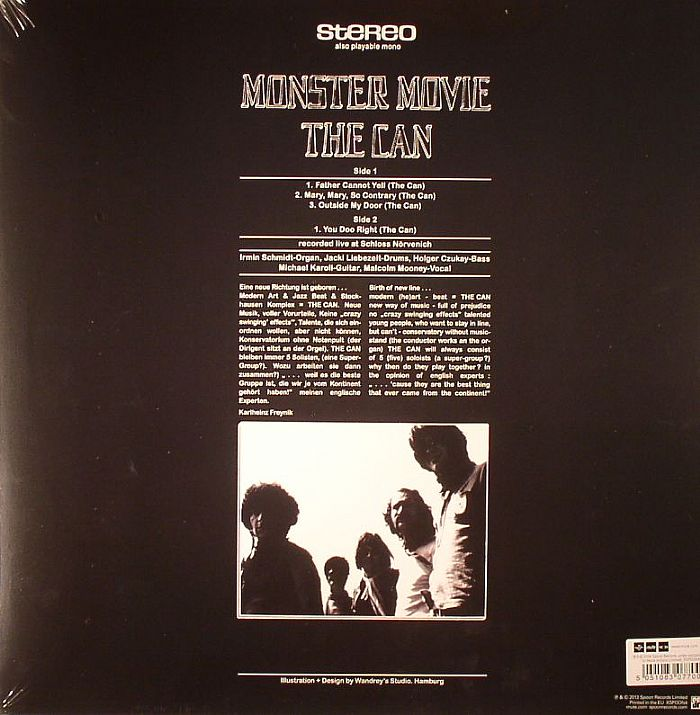 CAN - Monster Movie (stereo)