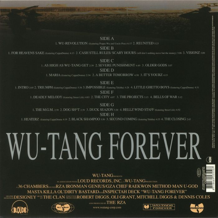 Wu Tang Clan Wu Tang Forever Vinyl At Juno Records