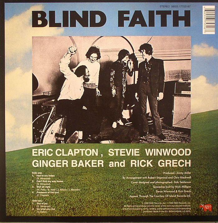 BLIND FAITH - Blind Faith (stereo) (remastered)