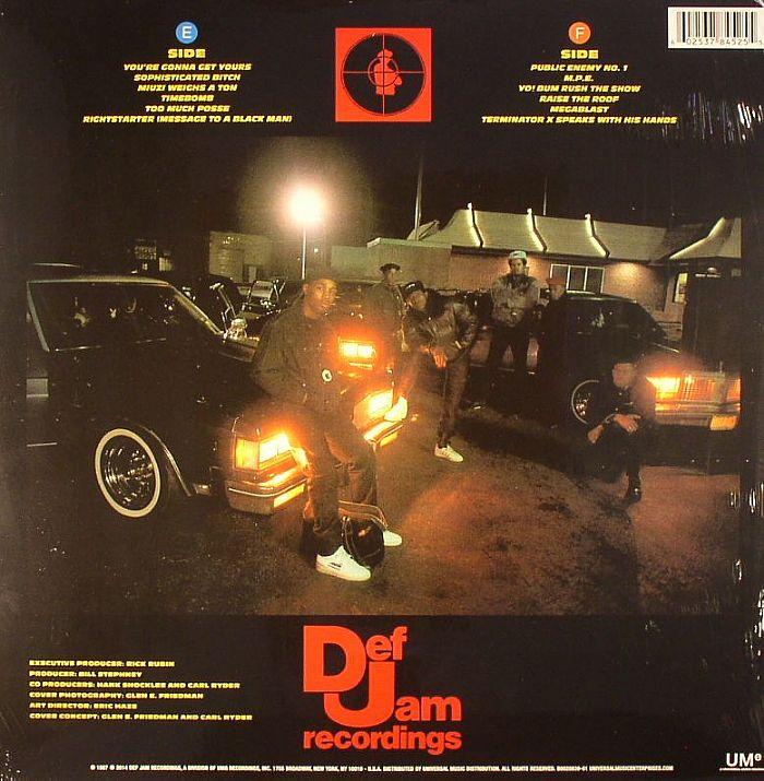 Public Enemy Yo Bum Rush The Show Vinyl At Juno Records