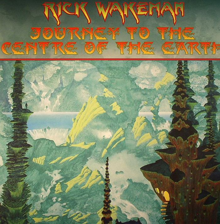Rick WAKEMAN Journey To The Centre Of The Earth vinyl at ...