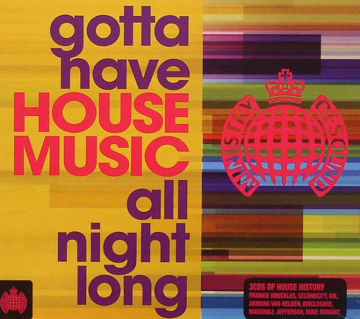 Various gotta have house music all night long vinyl at for Uk house music