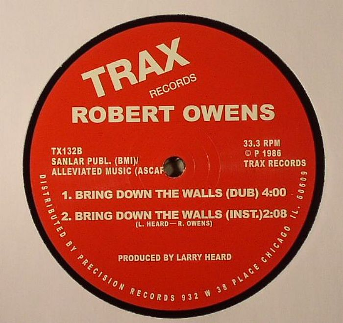 OWENS, Robert - Bring Down The Walls (remastered)