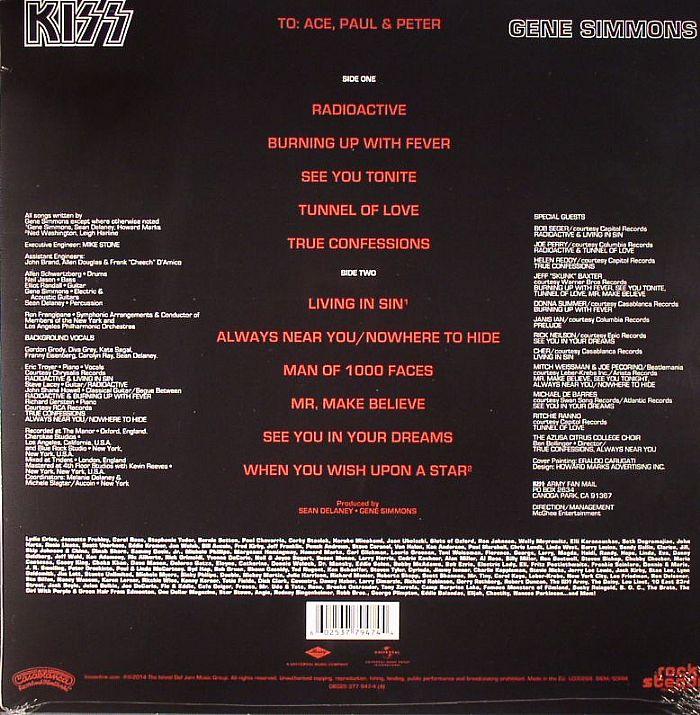 KISS - Gene Simmons
