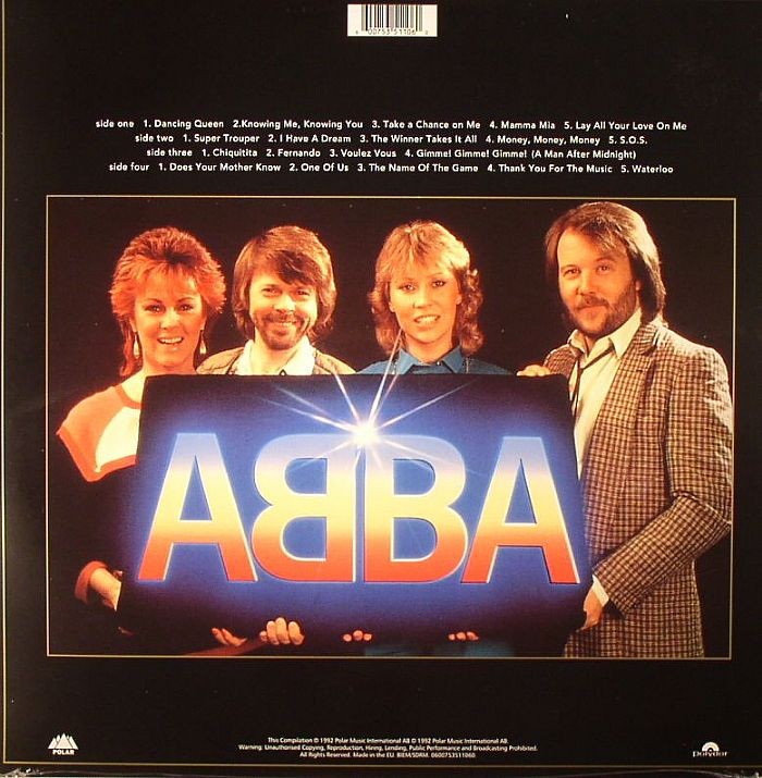 ABBA - Gold: Greatest Hits 40th Anniversary