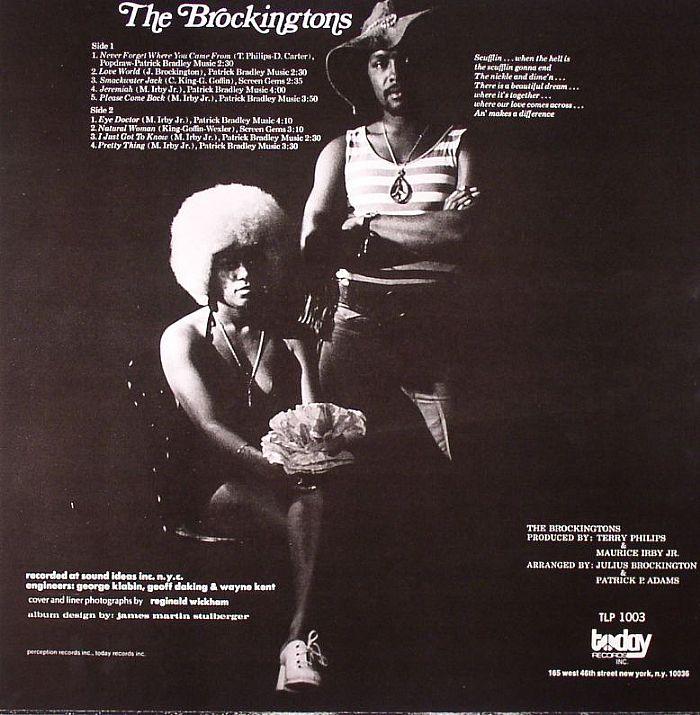 BROCKINGTONS, The - The Brockingtons (stereo)