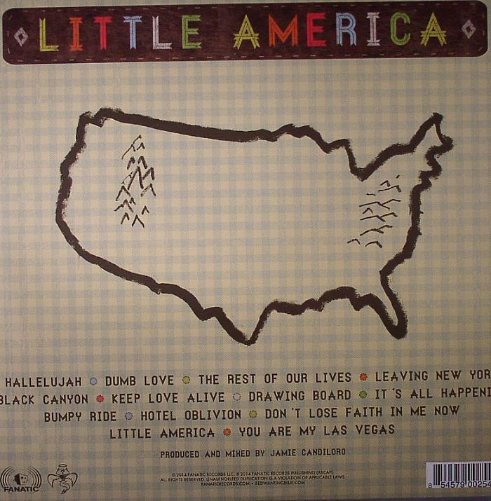 RED WANTING BLUE - Little America
