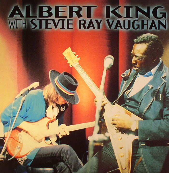 King Albert With Stevie Ray Vaughan In Session Vinyl