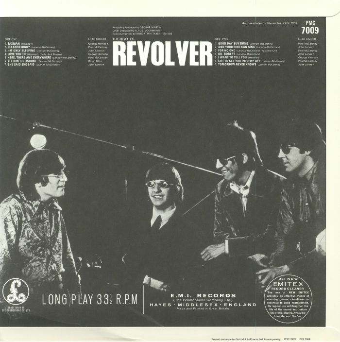 BEATLES, The - Revolver (mono) (remastered)