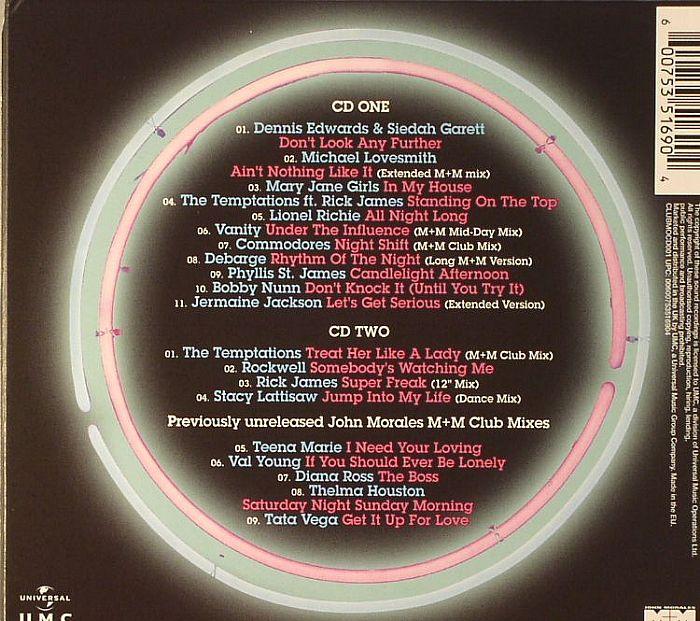 MORALES, John/VARIOUS - Club Motown