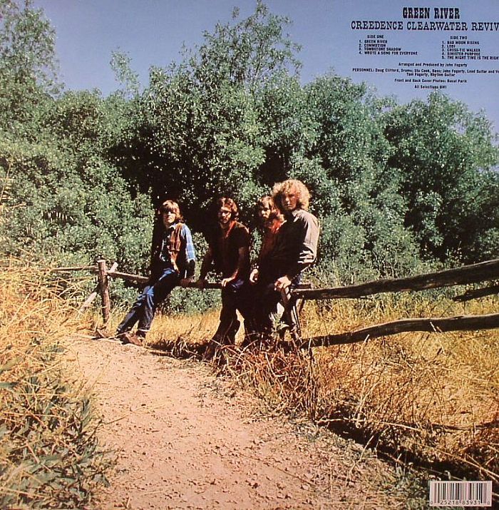 creedence clearwater revival green river vinyl at juno records. Black Bedroom Furniture Sets. Home Design Ideas