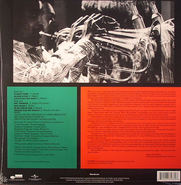 BYRD, Donald - Black Byrd (75th Anniversary Edition) (remastered)