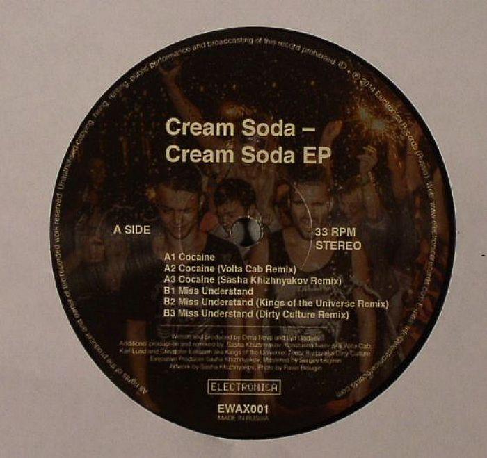 CREAM SODA - Cream Soda EP
