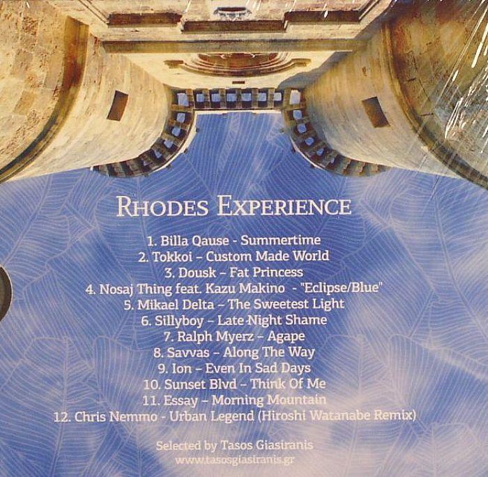 GIASIRANIS, Tasos/VARIOUS - Rhodes Experience