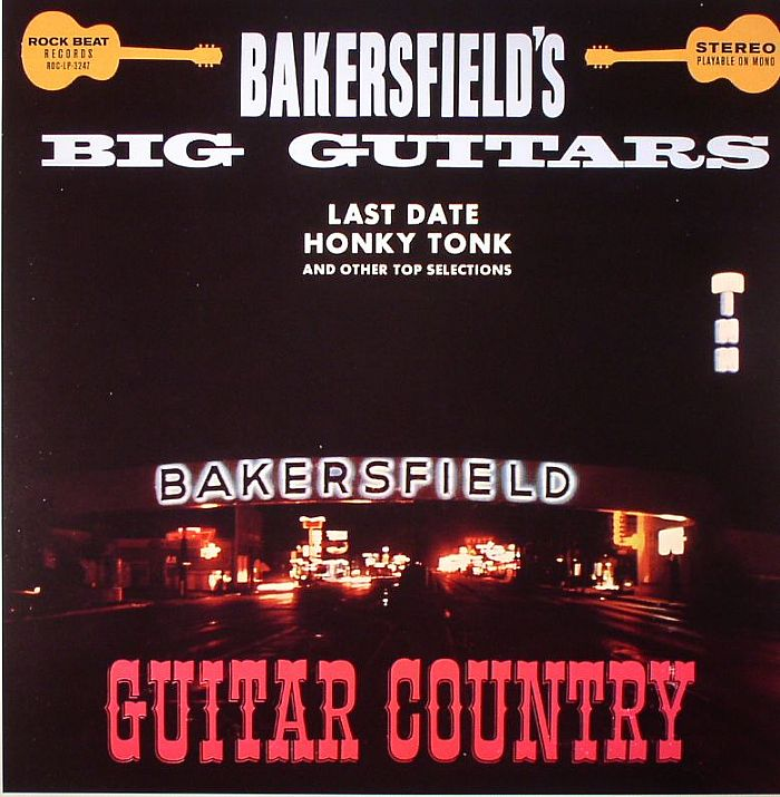 VARIOUS - Bakersfield's Big Guitars