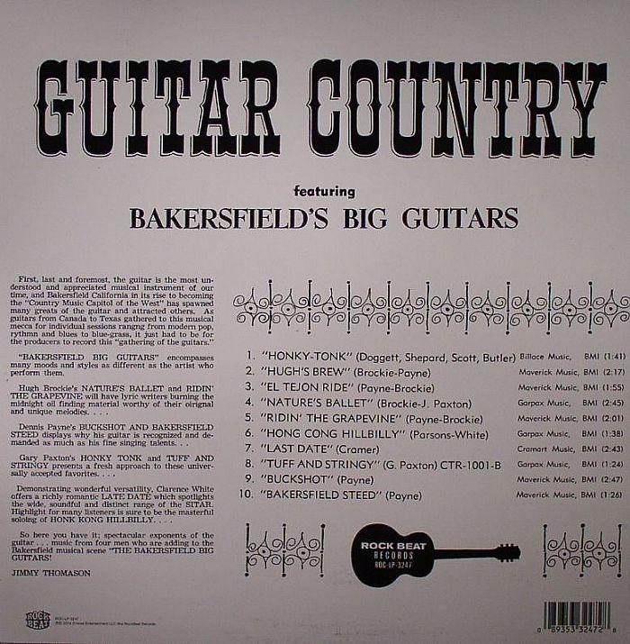 VARIOUS - Bakersfield's Big Guitars
