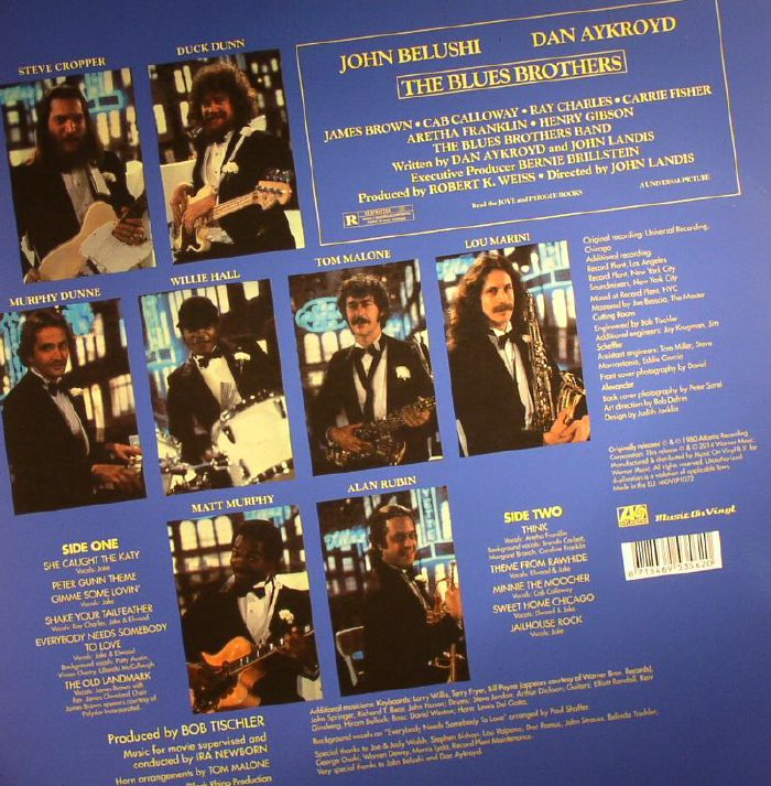 BLUES BROTHERS, The/VARIOUS - The Blues Brothers (Soundtrack)