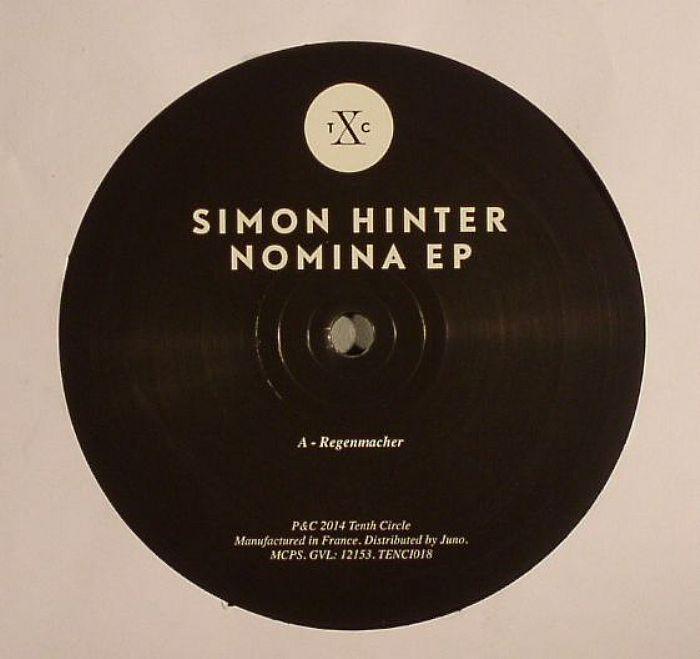 HINTER, Simon - Nomina EP