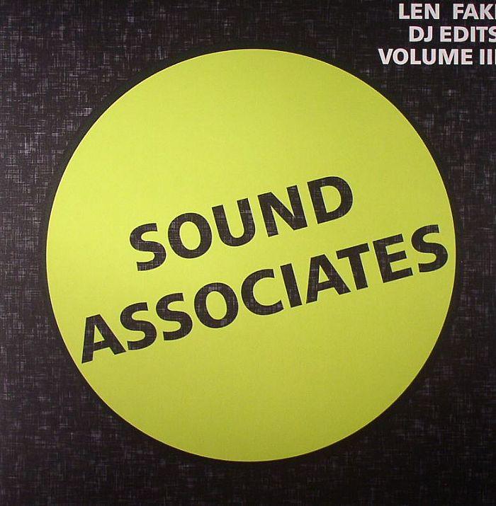 FAKI, Len - Len Faki DJ Edits Volume III