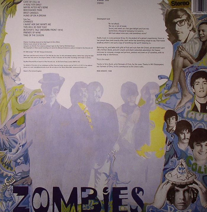 The Zombies Odyssey Amp Oracle 30th Anniversary Edition