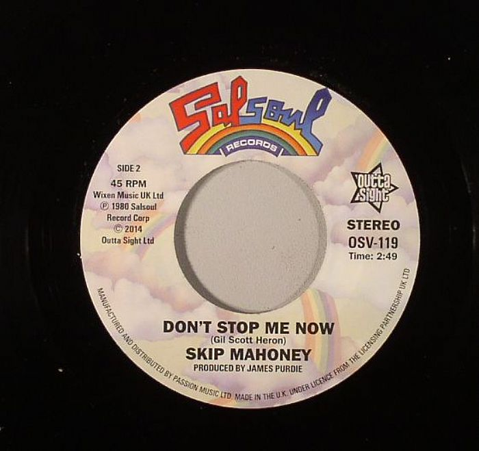 SKIP MAHONEY - Janice (Don't Be Blind To Love) (mono)