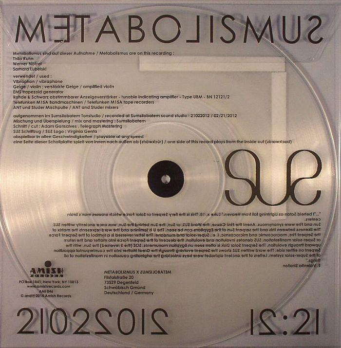 METABOLISMUS - Sus