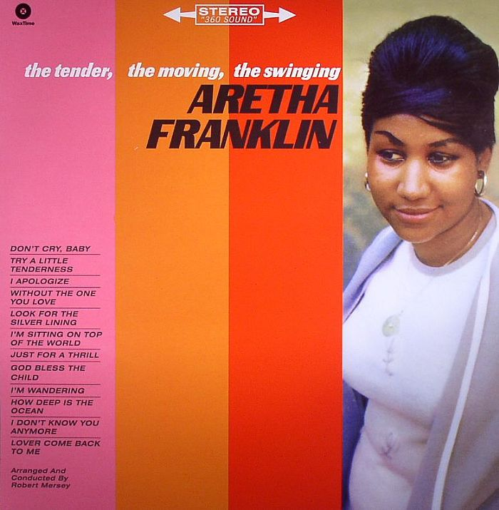 Aretha Franklin The Tender The Moving The Swinging Vinyl