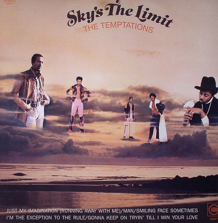 TEMPTATIONS, The - Sky's The Limit (stereo)