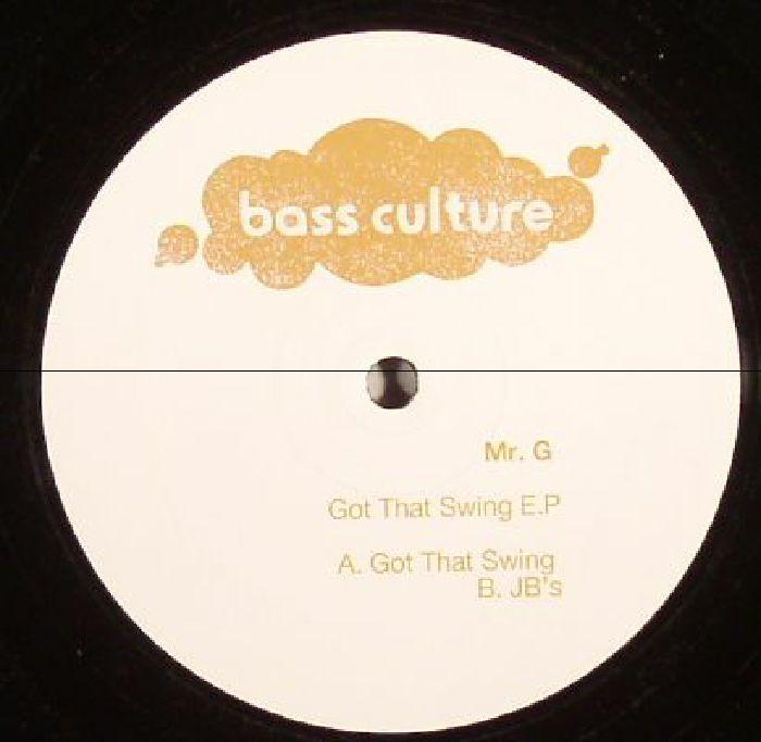 MR G - Got That Swing EP