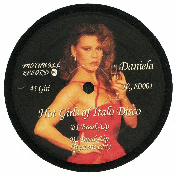 Patrizia PELLEGRINO/DANIELA POGGI Hot Girls Of Italo Disco vinyl at