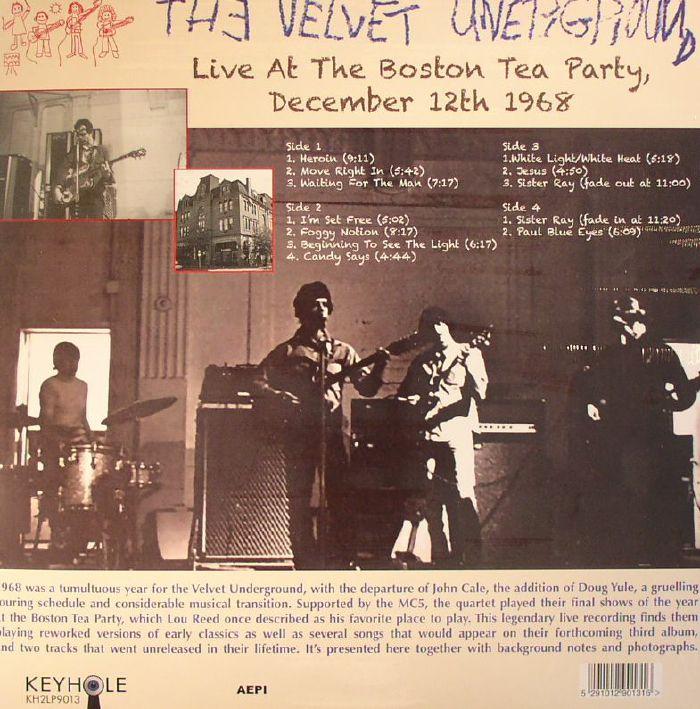 The Velvet Underground Live At The Boston Tea Party