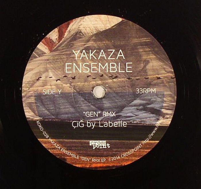 YAKAZA ENSEMBLE - Gen RMX EP