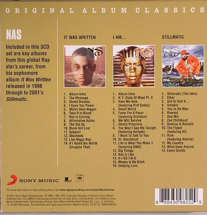 NAS Original Album Classics vinyl at Juno Records