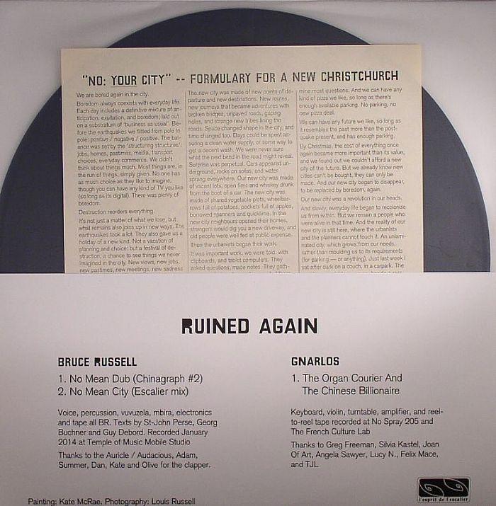 RUSSELL, Bruce/GNARLOS - Ruined Again