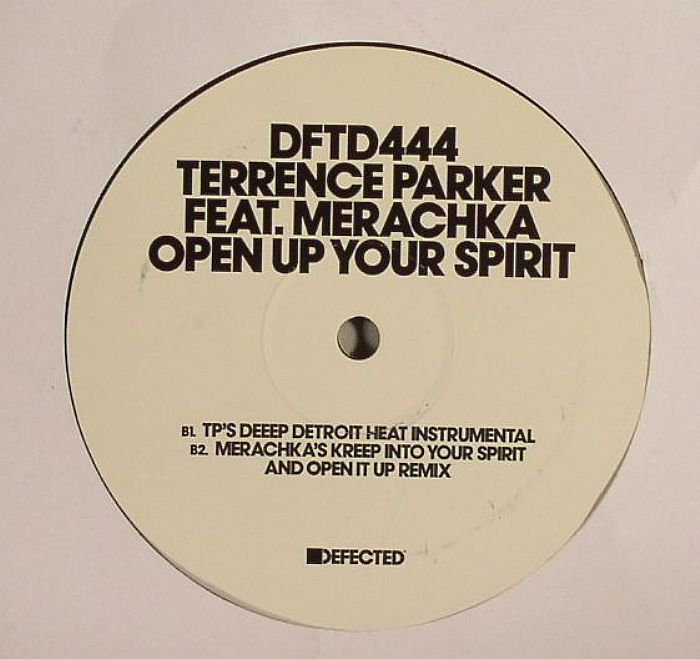 PARKER, Terrence feat MERACHKA - Open Up Your Spirit