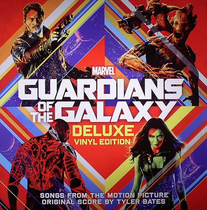 BATES, Tyler/VARIOUS - Guardians Of The Galaxy (Deluxe) (Soundtrack)