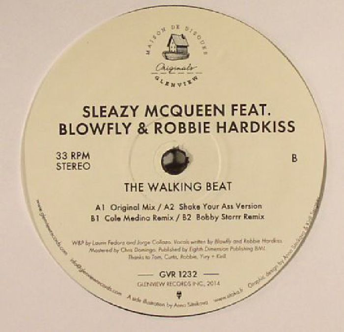 SLEAZY McQUEEN feat BLOWFLY & ROBBIE HARDKISS - The Walking Beat