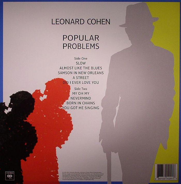 COHEN, Leonard - Popular Problems