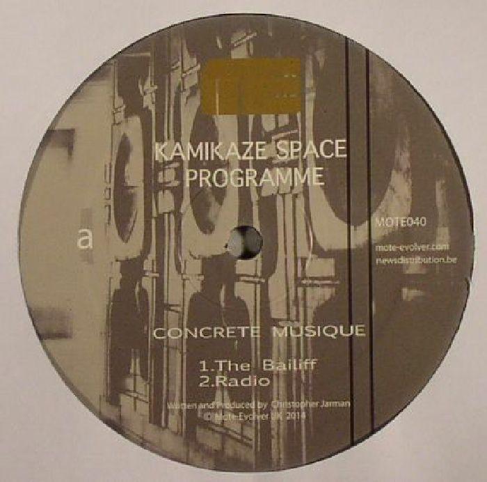 KAMIKAZE SPACE PROGRAMME - Concrete Musique