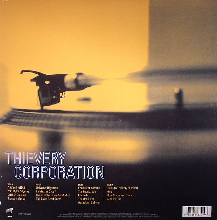 THIEVERY CORPORATION Sounds From The Thievery HiFi Vinyl At Juno