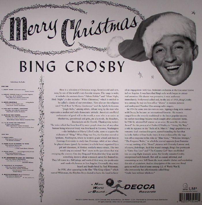 CROSBY, Bing - Merry Christmas