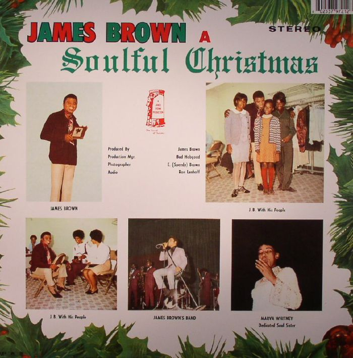 BROWN, James - A Soulful Christmas