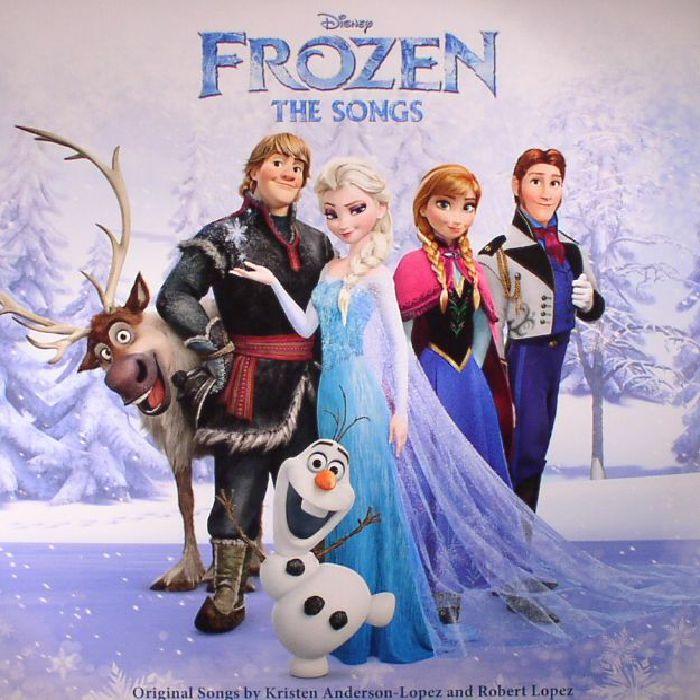 ANDERSON LOPEZ, Kirsten/ROBERT LOPEZ/VARIOUS - Frozen: The Songs (Soundtrack)
