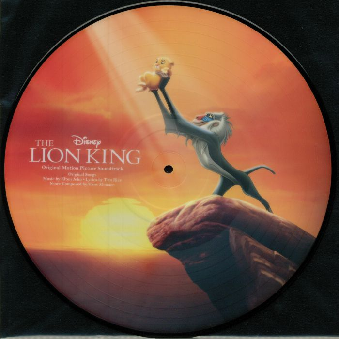JOHN, Elton/TIM RICE - The Lion King (Soundtrack)