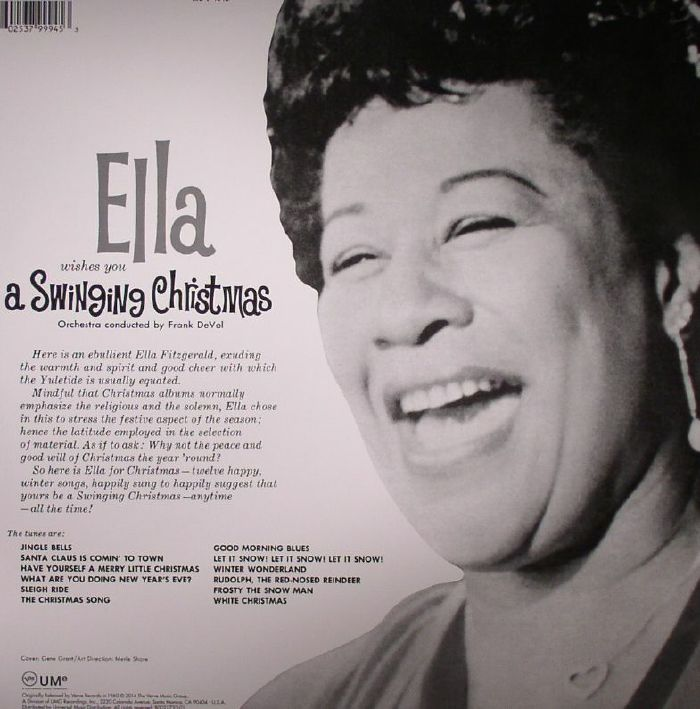 FITZGERALD, Ella - Wishes You A Swinging Christmas