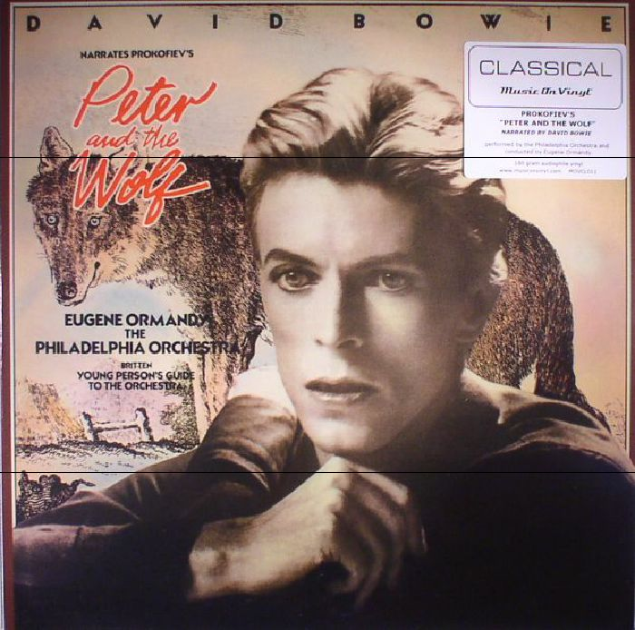 BOWIE, David/EUGENE ORMANDY/THE PHILADELPHIA ORCHESTRA - Peter & The Wolf