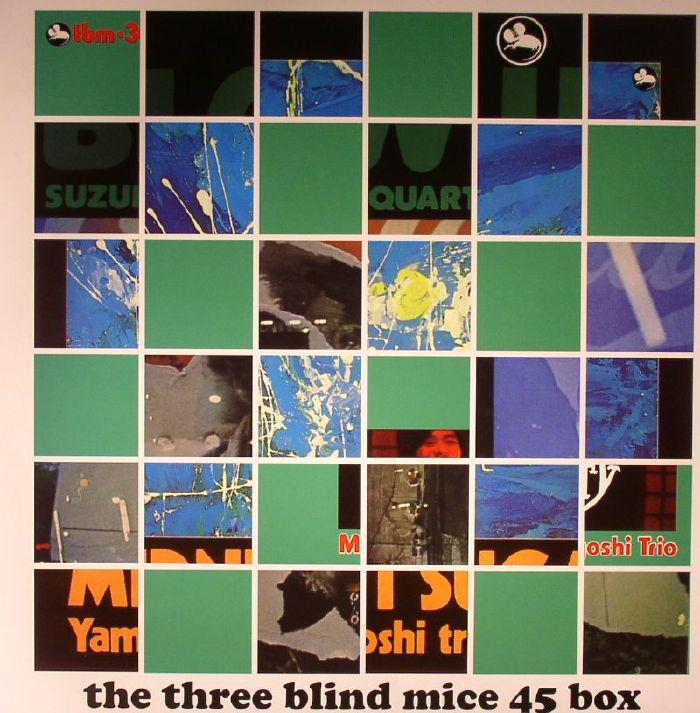 ISAO SUZUKI TRIO/QUARTET/TSUYOSHI YAMAMOTO TRIO - The Three Blind Mice 45 Box