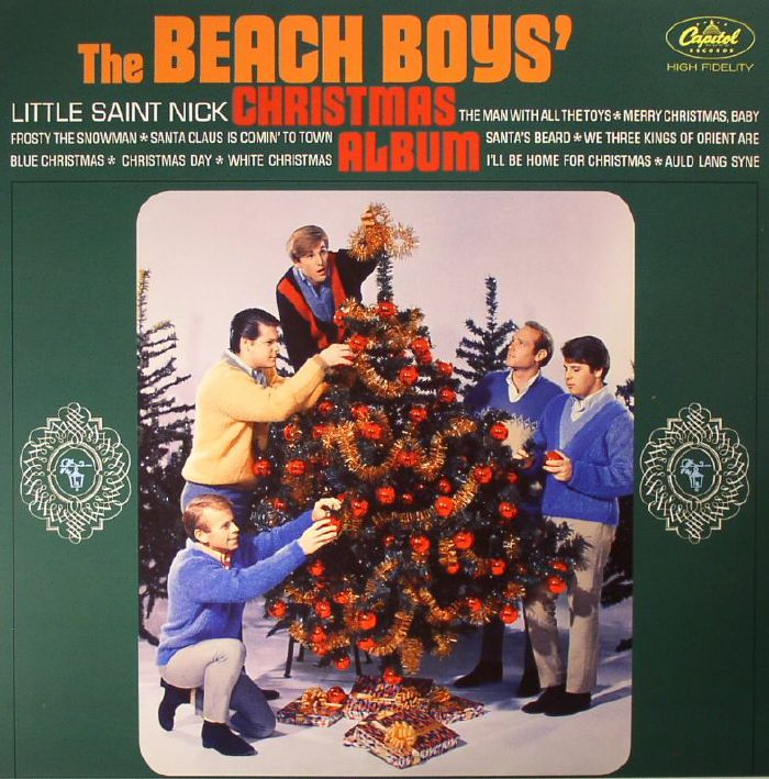 BEACH BOYS, The - The Beach Boys Christmas Album (mono)